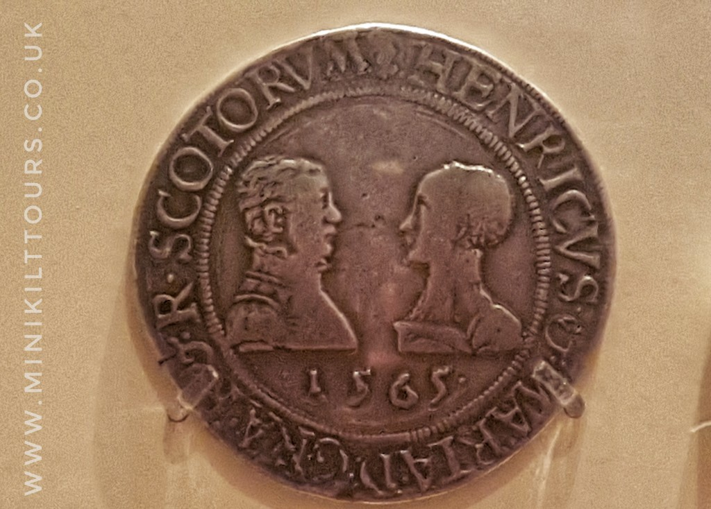 Mary Queen of Scots rare coin