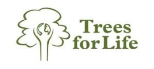 Trees for Life logo and link to Mini Kilt Tours Grove