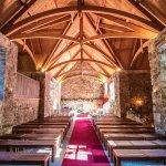 Glencorse kirk interior, vaulted ceiling